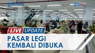 Situasi Terkini Pasar Legi Ponorogo yang Akhirnya Dibuka, Sempat Jadi Polemik soal Pembagian Lapak