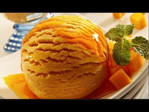 Video Mango Ice Cream -  Without Ice Cream Maker