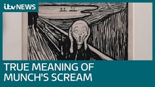 Edvard Munch's 'The Scream' may not actually be screaming at all | ITV News