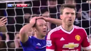 CHELSEA VS MANCHESTER UNITED 11  HIGHLIGHTS  ENGLISH COMMENTARY  07022016 HD