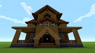 Minecraft How To Build A Wooden House Minecraftvideos Tv