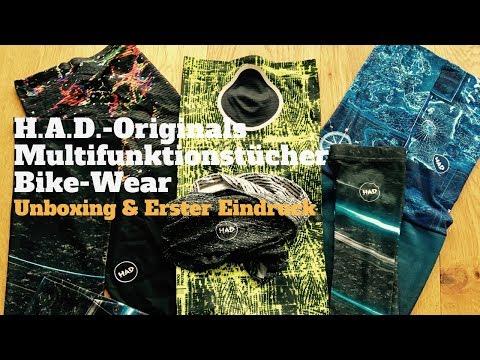 H.A.D.-Originals Multifunktionstücher | Unboxing & Erster Eindruck
