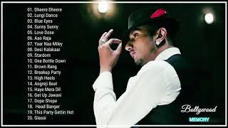 Best of Yo Yo Honey Singh   Top 20 Songs   Jukebox 2018