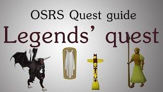 [OSRS] Legends' quest guide