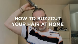 Expert Barber Advice – How To Cut Your Own Hair | The Buzzcut