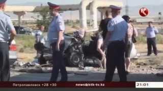 На трассе Ленгер - Шымкент погибли шесть человек