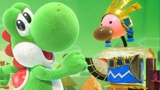 Yoshi's Crafted World - TIN-CAN CONDOR Boss Battle!