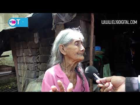 Madres de Héroes y Mártires de la Revolución Popular Sandinista reciben paquete alimenticio