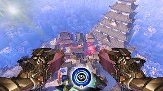 The Worlds Biggest DeathBlossom [Overwatch]