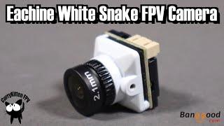 Eachine White Snake FPV Camera. Supplied by Banggood