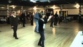 Linedance Lesson Come On And Dance  Choreo. Peter & Allison  Music Wait a Minute by The Cherry Bombs