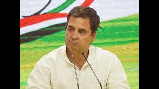 Election Results 2019: Rahul Gandhi Congratulates Narendra Modi, Says He Respects People's Mandate