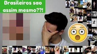 Reagindo às fotos dos meus fãs brasileiros!!!!
