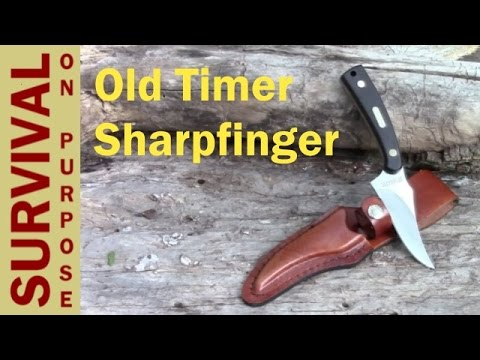 Schrade Old Timer Sharpfinger Review – Best Skinning Knife Under $20
