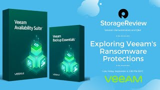 Live: Exploring Veeam's Ransomware Protections