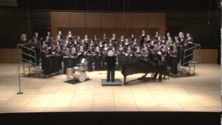 He's Gone Away, arranged By Ron Nelson sung byTemple University Women's Choir