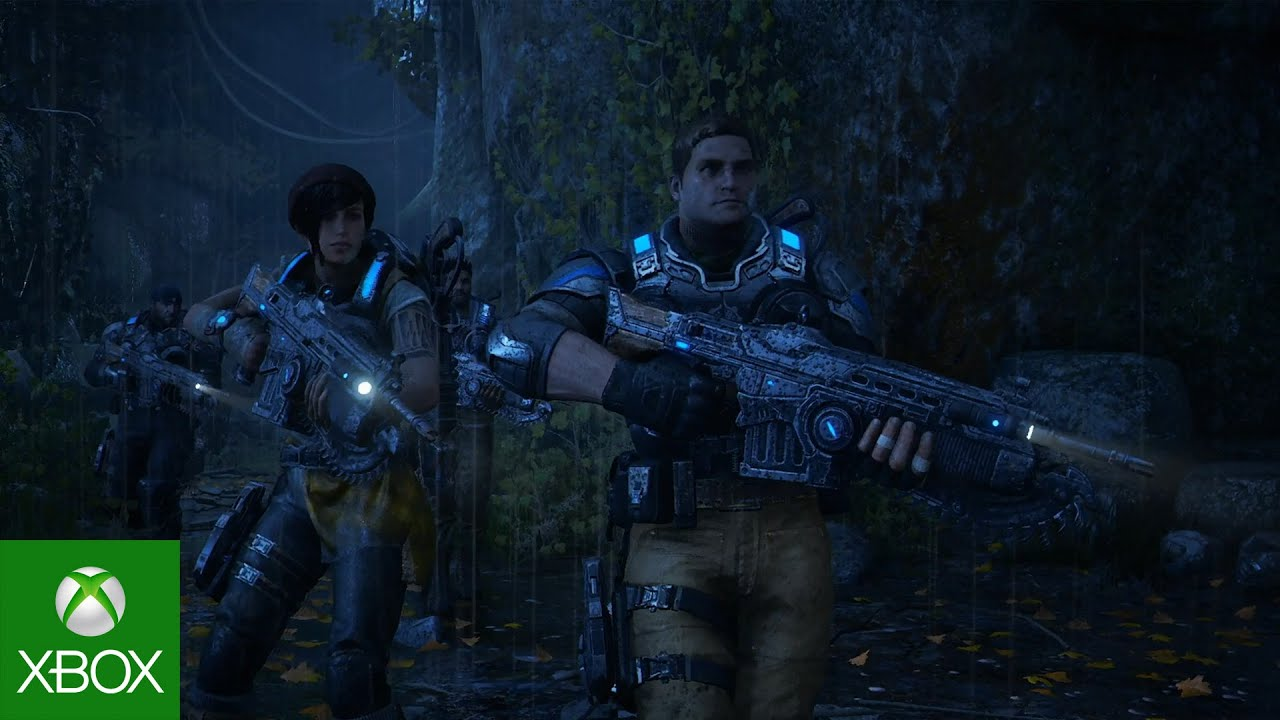 Video forGears of War 4 at San Diego Comic-Con
