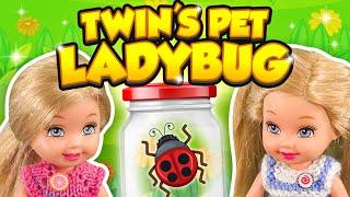 Barbie - The Twin's Pet Ladybug | Ep.288