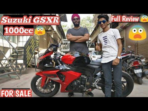 Suzuki GSXR 1000 😨    Full Review For sale    Saraswati Motors    Superbikes market    Karolbagh