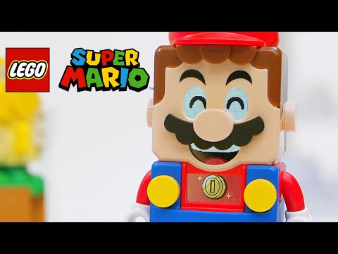 Super Mario Lego – It's Lego Mario Time Trailer