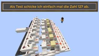 Binäre Signale | DSL in Minecraft Tutorial [Ger/En]