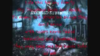 Danger Line - Avenged Sevenfold with Lyrics