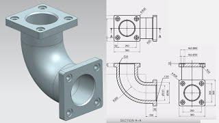 NX 12 Tutorial #26   3D Model Basic Design