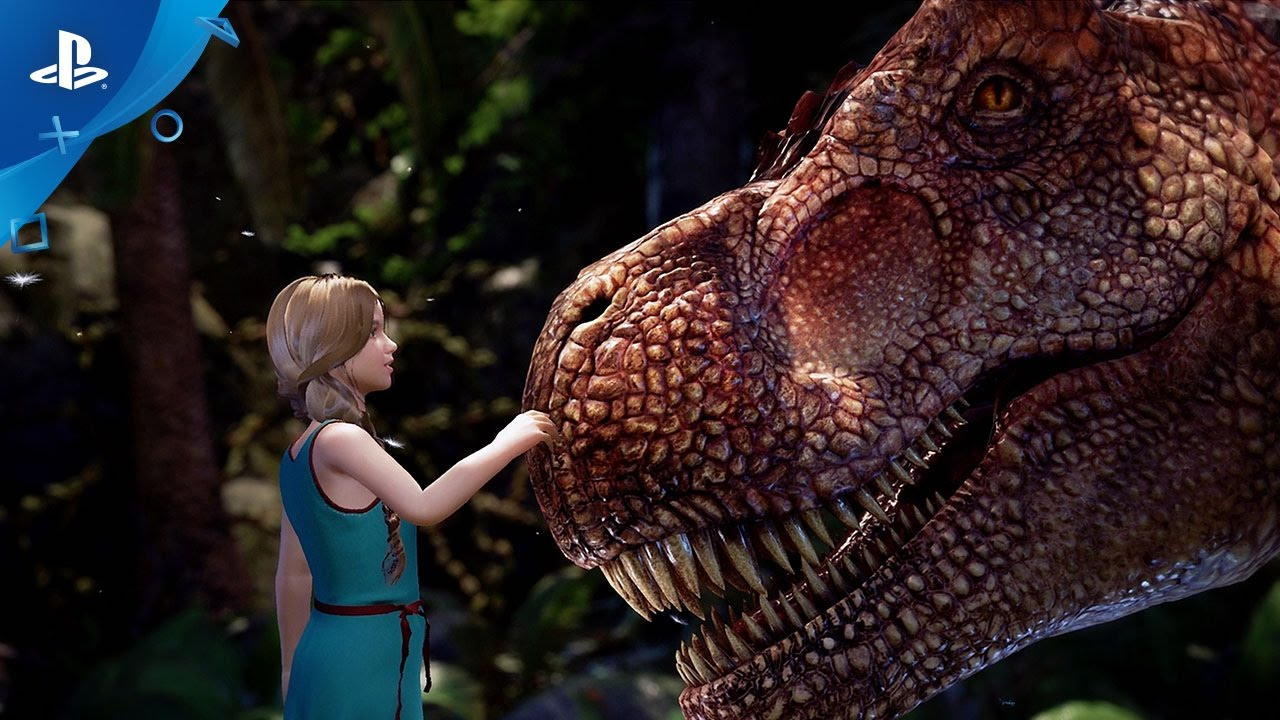 ARK Park Coming to PlayStation VR in 2017, Interacts with ARK: Survival Evolved