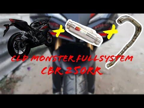 Suara Knalpot CLD Monster Full System CBR 250 RR  - test sound