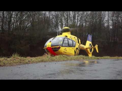 Hubschrauber Einsatz nach Auseinandersetzung in Lüdenscheid