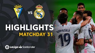 Resumen de Cádiz CF vs Real Madrid (0-3)