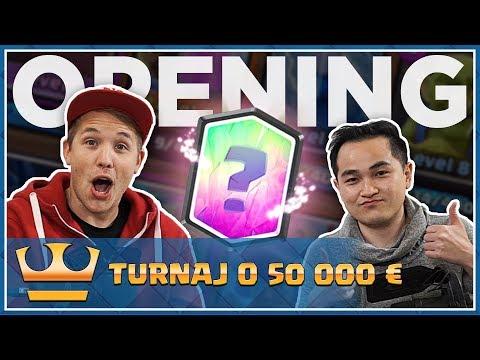 Jirka a Pepis - CLASH ROYALE - Turnaj o 50 000 € a Chest Opening!