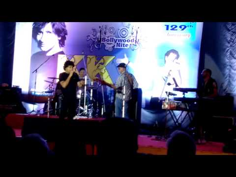 Tu Jo Mila, singer KK performing live for the First Time at Poona Club, 12 September 2015