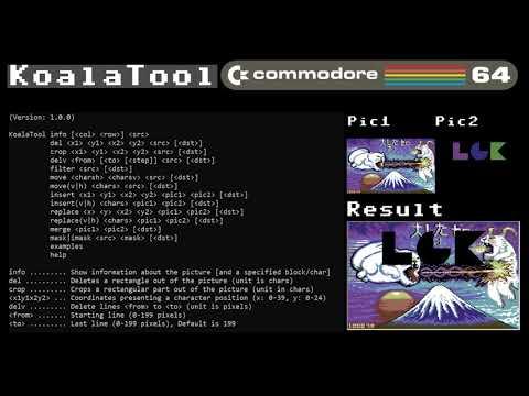 KoalaTool (Command Line Tool for the C64)