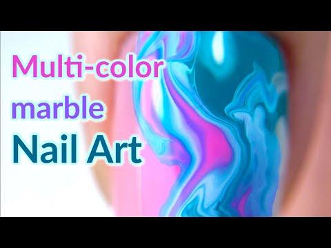 Gel Marble Nail Design | Modelones Review