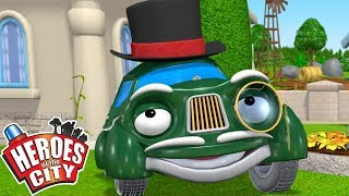 Heroes of the City - Mayors Mansion | Cartoons For Kids | Cars Cartoons For Kids | Vehicles For Kids
