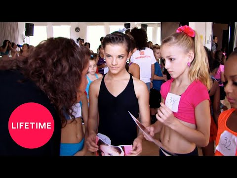 Dance Moms: The Girls Audition for a Music Video (Season 1 Flashback) | Lifetime