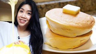 This is probably the closest we'll ever get to eating a cloud - can Inga make the jiggliest, fluffiest pancakes in the world? Follow Inga for more fun food content: https://www.instagram.com/ingatylam/  Credits: https://www.buzzfeed.com/bfmp/videos/102608  Check out more awesome videos at BuzzFeedVideo! https://bit.ly/YTbuzzfeedvideo  GET MORE BUZZFEED: https://www.buzzfeed.com https://www.buzzfeed.com/videos https://www.youtube.com/buzzfeedvideo https://www.youtube.com/asis https://www.youtube.com/buzzfeedmultiplayer https://www.youtube.com/buzzfeedviolet https://www.youtube.com/perolike https://www.youtube.com/ladylike  SUBSCRIBE TO BUZZFEED NEWSLETTERS: https://www.buzzfeed.com/newsletters  BuzzFeedVideo BuzzFeed's flagship channel. Sometimes funny, sometimes serious, always shareable. New videos posted daily! To see behind-the-scenes & more, follow us on Instagram @buzzfeedvideo http://bit.ly/2JRRkKU  Love BuzzFeed? Get the merch! BUY NOW: https://goo.gl/gQKF8m MUSIC SFX Provided By AudioBlocks (https://www.audioblocks.com)  Licensed via Audio Network Tan Fantasy_FullMix Licensed via Warner Chappell Production Music Inc. Emmersons Quest_Main Licensed via Warner Chappell Production Music Inc. Todo Aquele Jazz Bossa_Full Mix Licensed via Warner Chappell Production Music Inc. Beleza Samba_Full Mix Licensed via Warner Chappell Production Music Inc. Malibu Beach Bar Licensed via Warner Chappell Production Music Inc.   VIDEO Cooking of Japanese Fluffy Souffle Pancakes Topped on pan with Chocolate Cookie Crumbs in cafe restaurant powerbeephoto/Getty Images