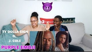Ty Dolla $ign   Purple Emoji Ft. J. Cole REACTION