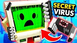 NEW Infecting JOB BOT With SECRET RADIOACTIVE VIRUS (Funny Job Simulator VR Gameplay)