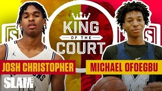 Josh Christopher has SUPERPOWERS in the SHORT SHORTS | SLAM King of the Court