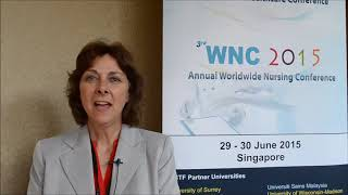 Prof. Sandra Secord at WNC Conference 2015 by GSTF