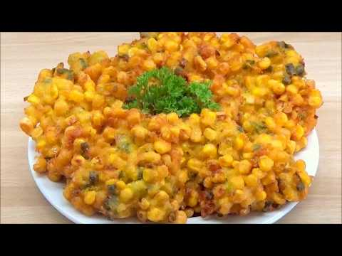 Cara Membuat Bakwan Jagung (How To Make Corn Fritters)
