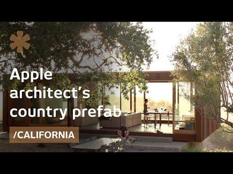Apple architect picks a small prefab to savor CA countryside