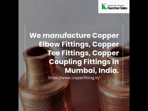 Medical Grade Copper Fittings