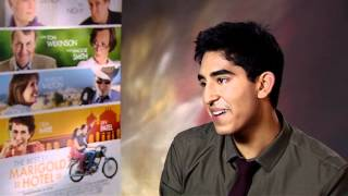 Dev Patel Interview - The Best Exotic Marigold Hotel