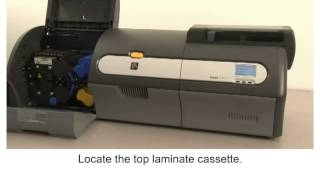 Zebra ZXP Series 7 How-To: Clear a Laminator Card Jam