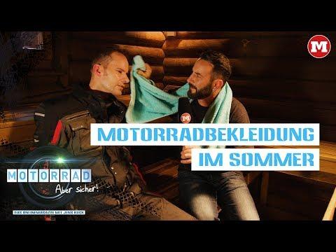 Motorradbekleidung im Sommer – Motorrad: Aber sicher! – Das Magazin