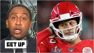 Stephen A. isn't sold on Patrick Mahomes catching Tom Brady for Super Bowls | Get Up