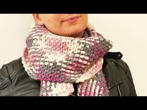 Häkeln Loop Schal Winter Schal Auch Für Männer Tollen Muster